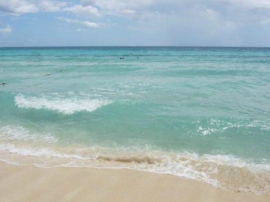 Public beach of Dominicus at Bayahibe : Playa Dominicus un sueño turuqesa