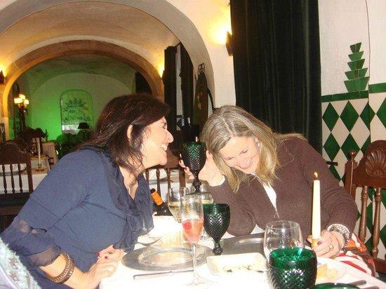 Tacho Real: Jantar de amigas