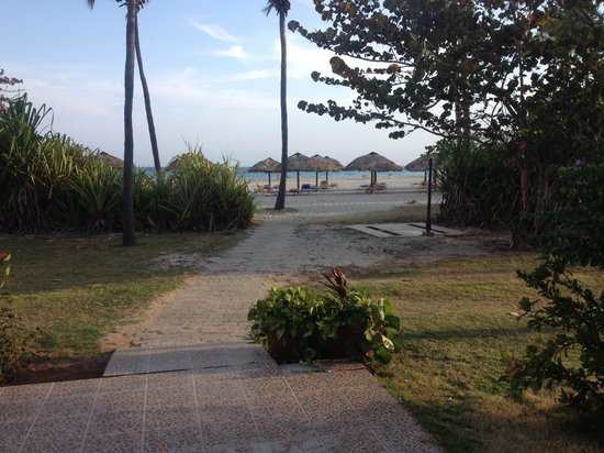 Hotel Club Puntarena: outside hotel lobby