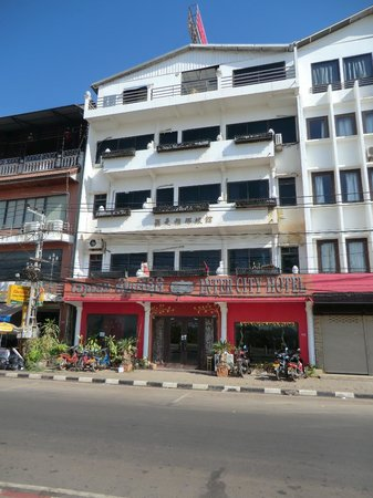 Inter City Boutique Hotel: Outside