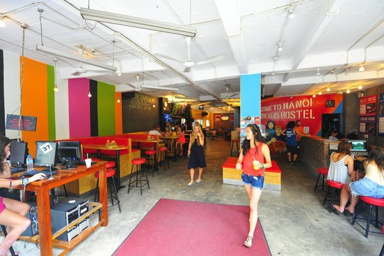 Vietnam Backpacker Hostels - Downtown: Lobby