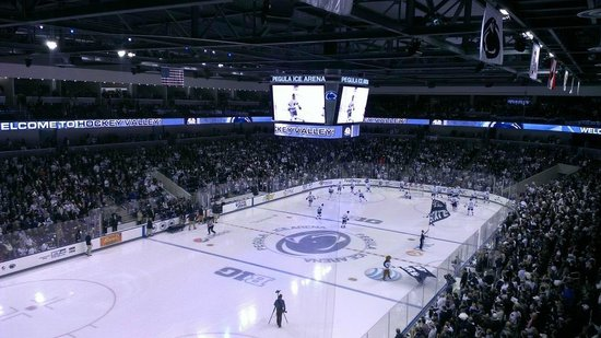 Pegula Ice Arena: View from third level