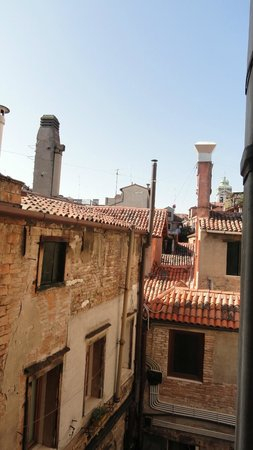 Antico Panada: View from room.