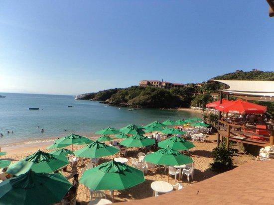 Hotel La Foret: vista desde el comedor club de playa