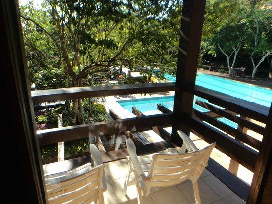 Hotel La Foret : vista de la piscina