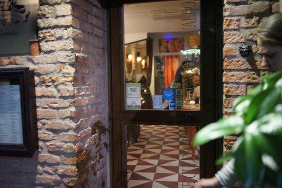 Club Culinario Toscano da Osvaldo : Outside the restaurant
