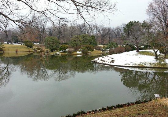 Missouri Botanical Garden: Japanese Garden in Winter