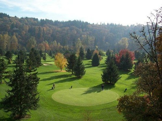 Sah-Hah-Lee Golf Course & Driving Range: Along the banks of the Clackamas River.