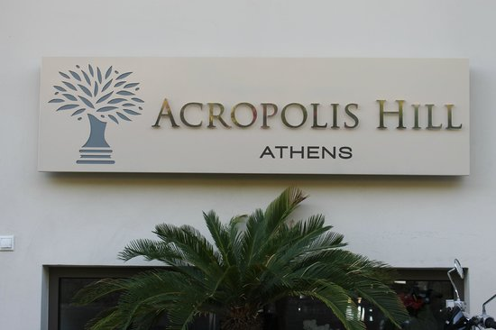 Acropolis Hill Hotel: Hotel name
