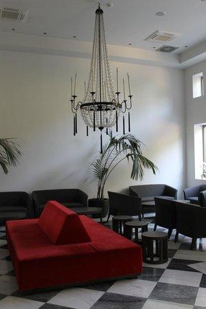 Acropolis Hill Hotel: hotel lobby