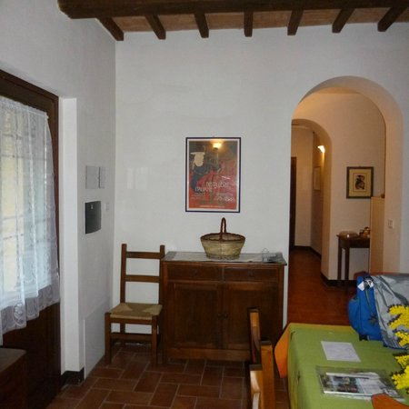 Agriturismo La Mela : From living/dining area down hall of 2-bedroom apt.