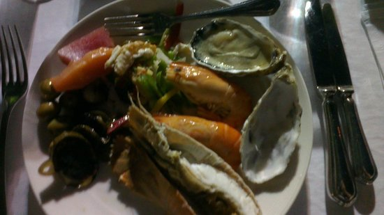 Dusit Thani Pattaya: Some of the Sea food