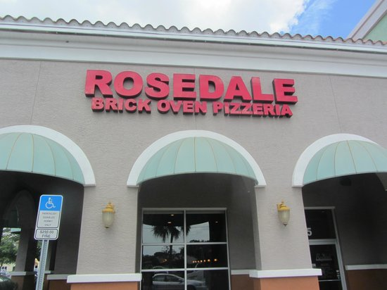 Rosedale Brick Oven : This is the place !