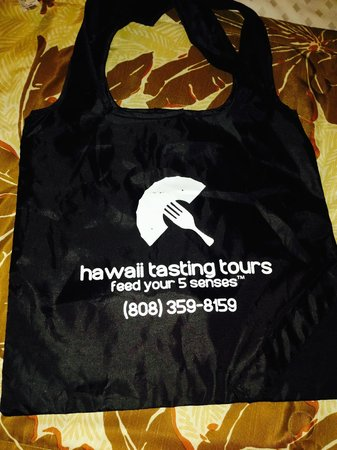 Hawaii Tasting Tours: a door prize we won on the tour