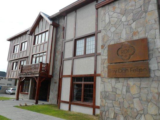 Hotel Rey Don Felipe: Frente del hotel