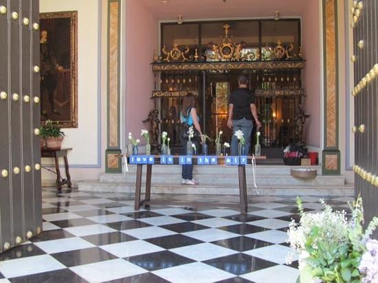 Hotel El Convento: lobby of the hotel