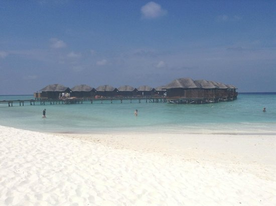 Fihalhohi Island Resort : Great beach!
