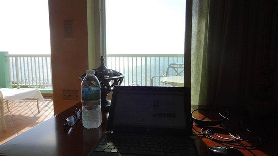 Las Casitas Village, A Waldorf Astoria Resort : From the desk in the Master BDRM