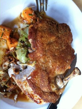 Market Table: Pan roasted chicken
