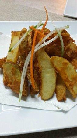 Wadadli Monkeys : Potato Wedges