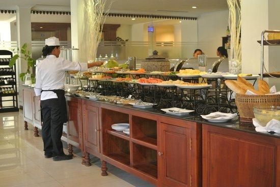 Saem Siemreap Hotel: Breakfast