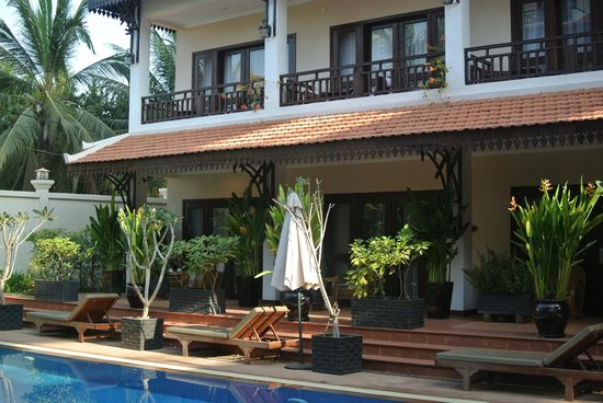 Saem Siemreap Hotel: our room on the ground floor