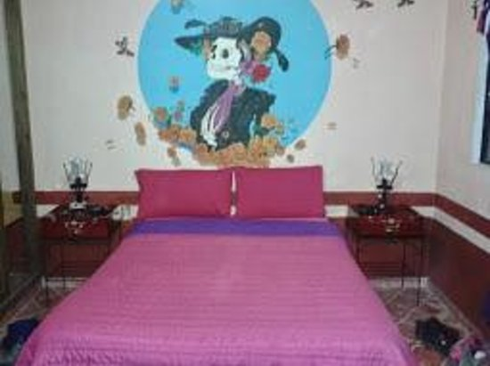 Casa de Dante Hostel: Muy típicas las habitaciones.