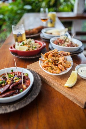 Seabean Tapas Bar Restaurant : Tapas selection