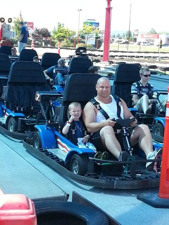 Triple Play Family Fun Park: go carts
