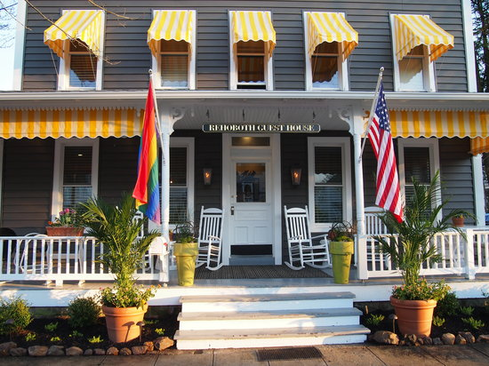 Rehoboth Guest House: Front of Guest House