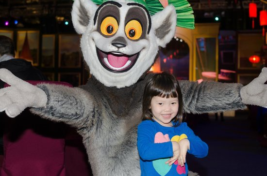 DreamWorks Experience at Cotai Strip Resorts: King Julien XIII