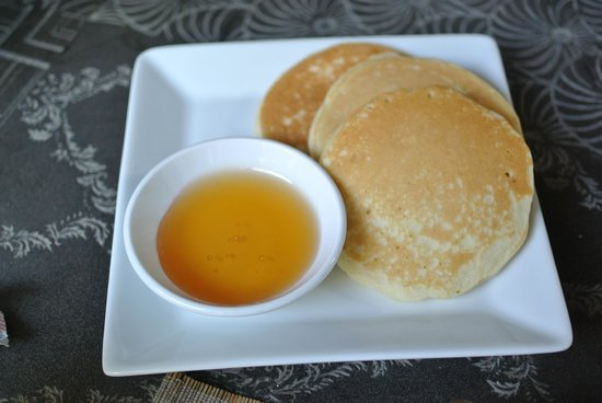 The Governors House Boutique Hotel Phnom Penh: Pancakes made fresh