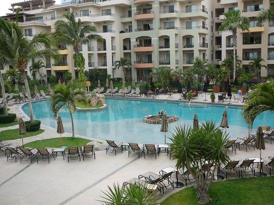 Villa La Estancia : View from our terrace, overlooking resort