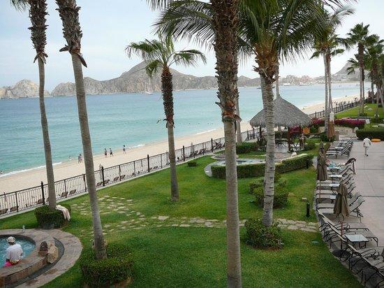 Villa La Estancia : View from our terrace, overlooking Madano beach and Sea of Cortez