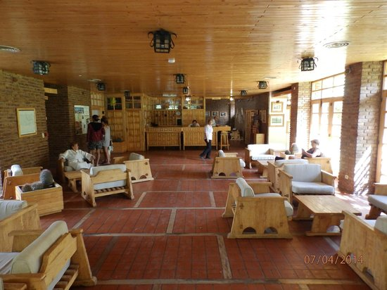 Hotel & Spa Termas Cacheuta: Hall del Hotel