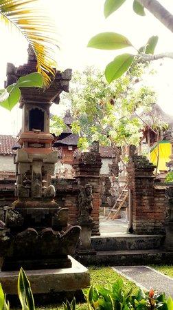 Karang Mesari Ubud Bungalow: View from our room