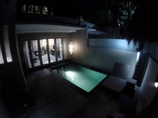 Blue Karma Hotel : Private pool of Villa Frangipani