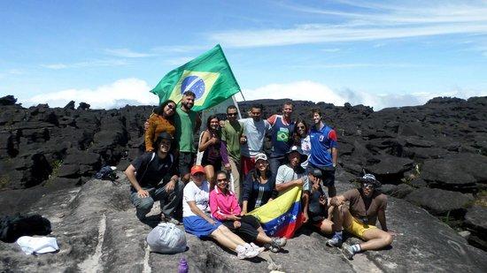 Parque Nacional do Monte Roraima: Turma inesquecível!
