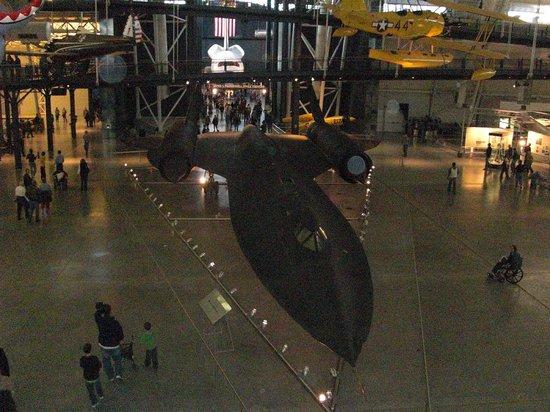 Smithsonian National Air and Space Museum Steven F. Udvar-Hazy Center: SR 71