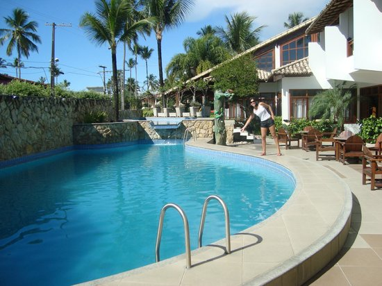 Poty Praia Hotel : Área da piscina