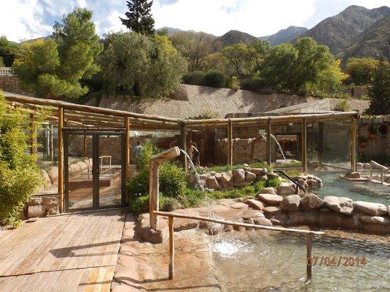Hotel & Spa Termas Cacheuta: Piletas termales