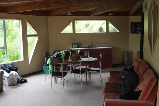 Te Nikau Retreat: Upstairs in Rata Lodge