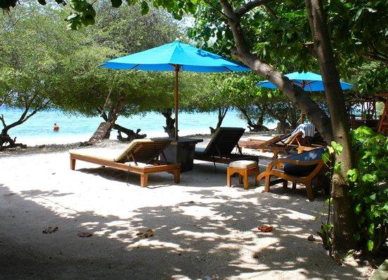 Villa Grasia Resort & Spa : Beach