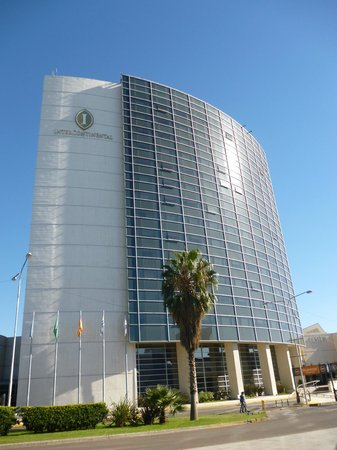 InterContinental Mendoza: Vista exterior de las habitaciones.