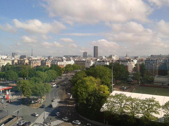 Novotel Paris 14 Porte d'Orleans: Vue depuis la chambre
