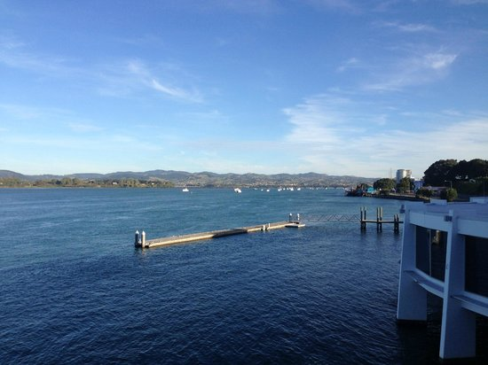 Trinity Wharf Tauranga: View from Premium Waterview room