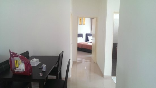 Seri Bayu Resort : from from entrance of the studio