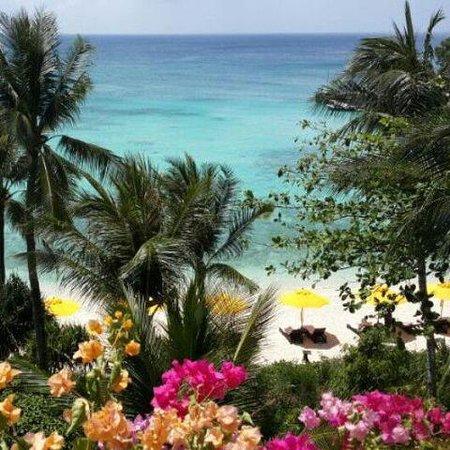 Shangri-La's Boracay Resort & Spa: Вид из окна номера