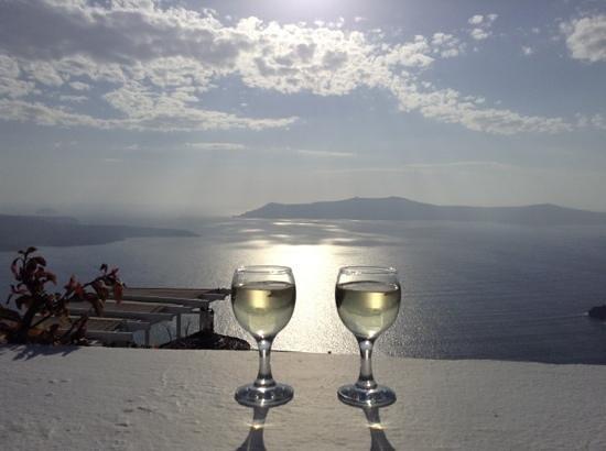Infinity Suites - Dana Villas & Suites : vista desde nuestra terraza