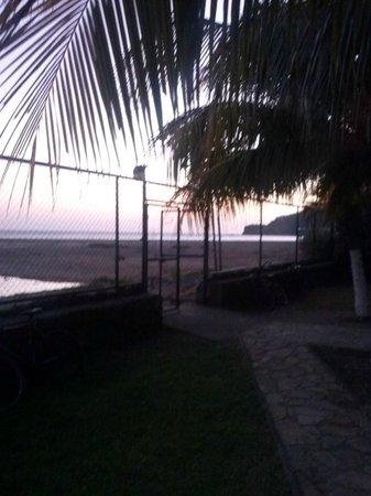 Yajure Surf Hostel: vista desde la zona de descanso